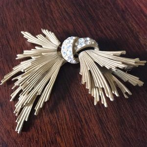 Givenchy Gold Brooch